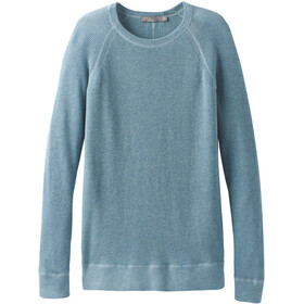 Prana Milani Felpa girocollo Donna, vintage blue heather